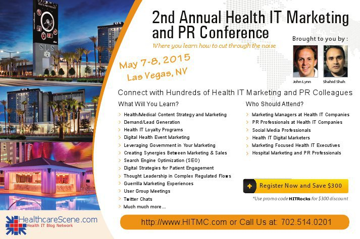 Healthcare Scene - Healthcare IT Marketing and PR Conference