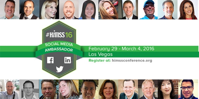 HIMSS Social Media Ambassador